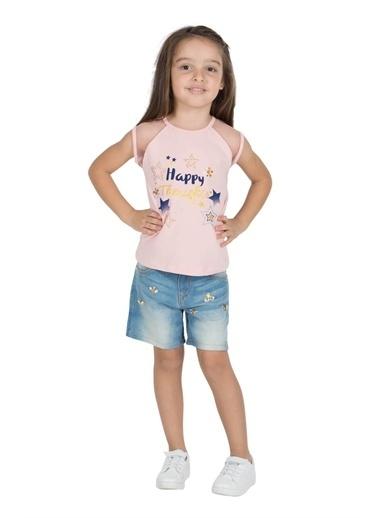 Silversun Kids Kız Çocuk Baskılı Kolsuz Tişört Bk 215484 Pembe